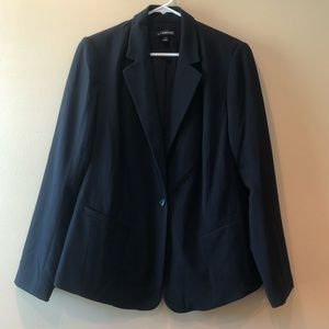 Lane Bryant black work blazer jacket 18